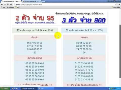 หวยหุ้นไทยรายวัน จะแม่นไปไหน โดย หวยหุ้น ดอทคอม