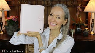 Review: Franklin Covey Planner Love Binder, Blush Florals Planner and Accessories / Classic Style
