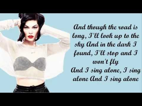Jessie J - Flashlight Piano Instrumental/Lyrics (Karaoke)
