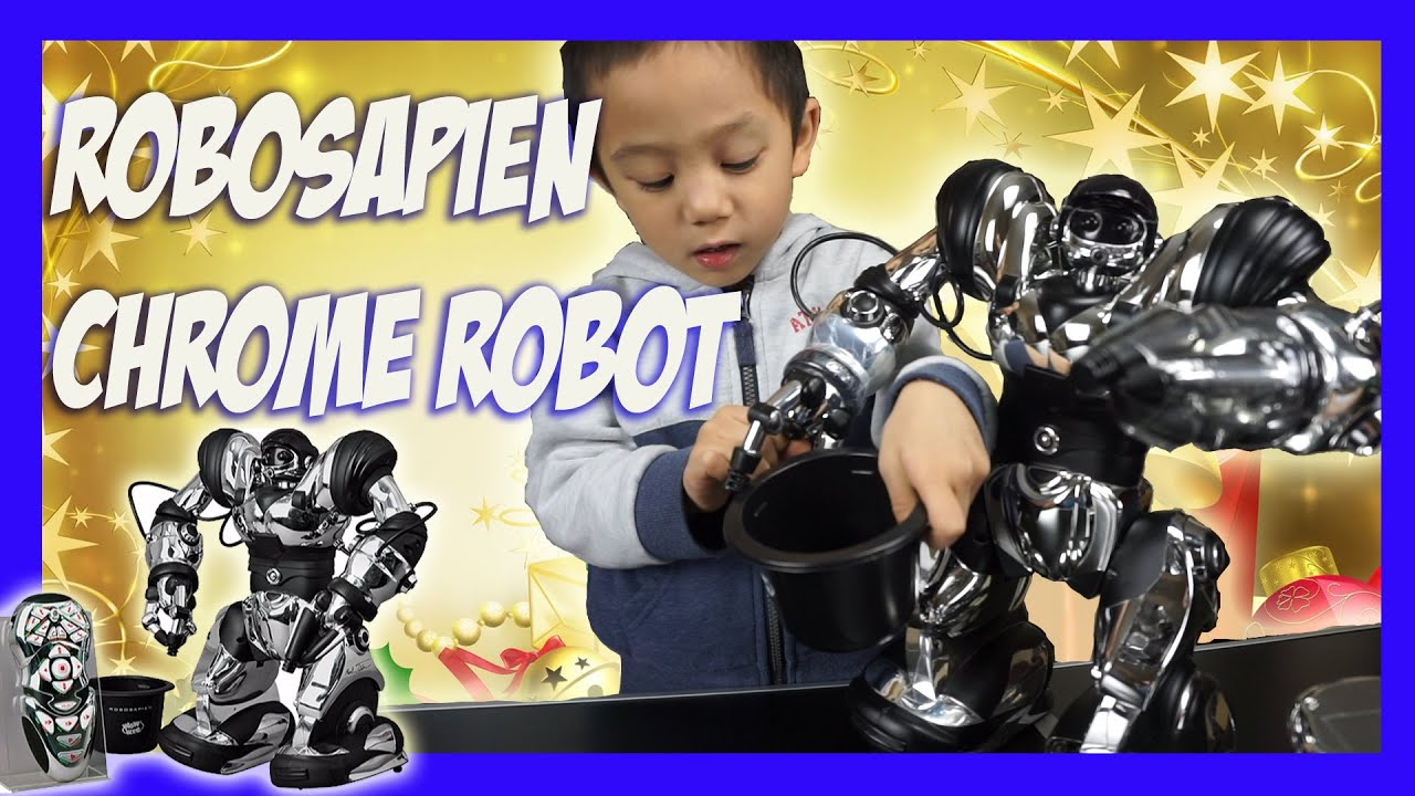 Robosapien Chrome Robot Best Christmas t for kids
