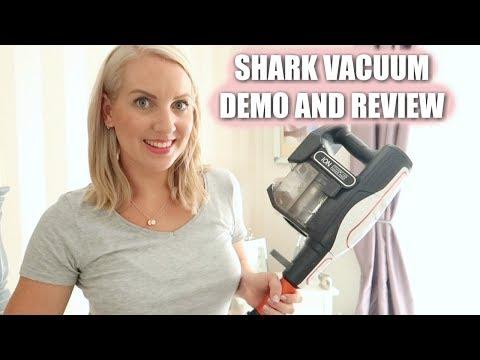 SHARK CORDLESS VACUUM REVIEW AND DEMO | Sarah-Jayne Fragola