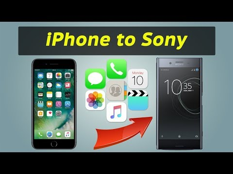 How to Transfer Data from iPhone to Sony Xperia Z3 / Z4