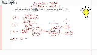 MCR3U/Grade 11 Functions: 5.5 (Examples)