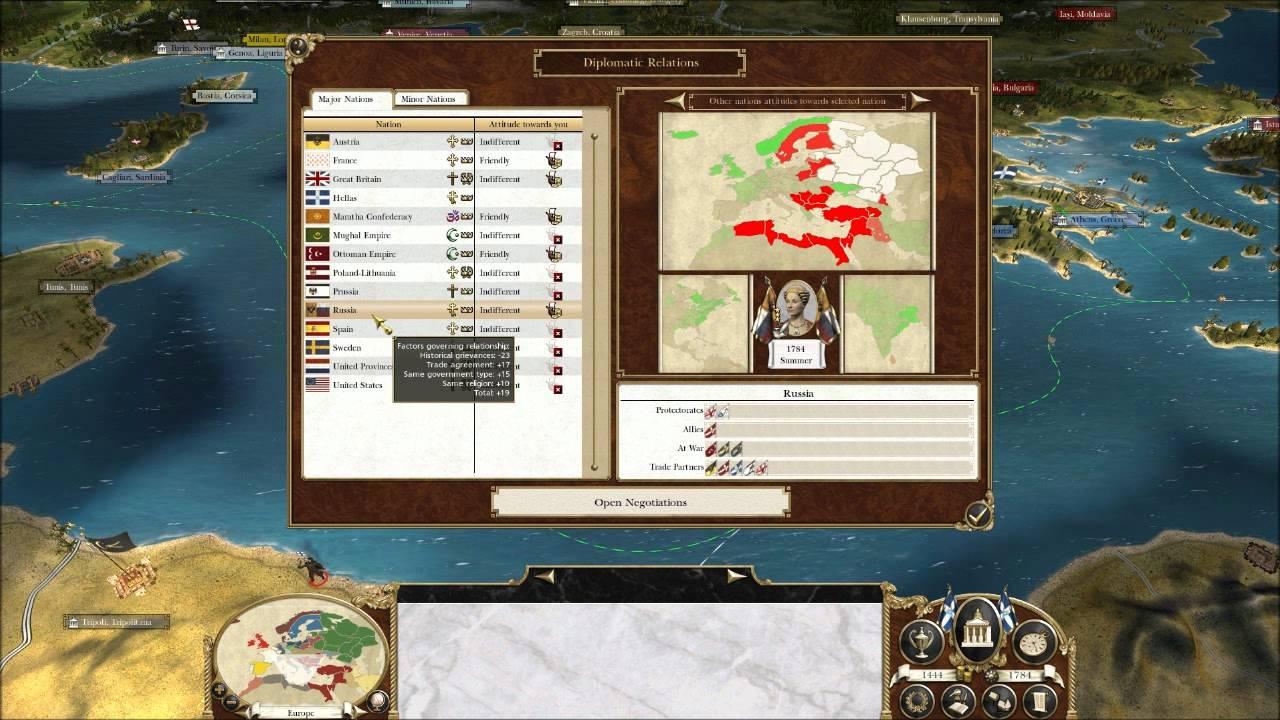 Greek translation for total domination