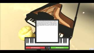 Practicing Roblox Piano - Secret Garden