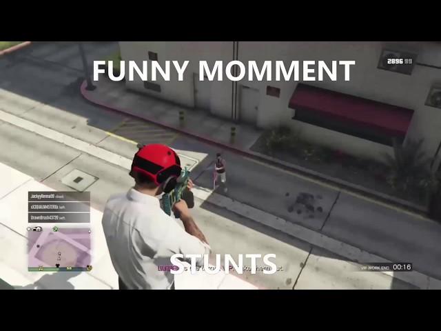 GTA Online Kills & Funny Moments
