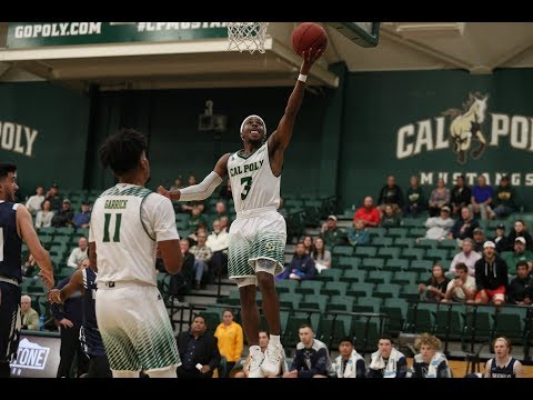 Donovan Fields 30 PTS vs Menlo College | Cal Poly Mustangs | 11/7/18 | Next Ones |