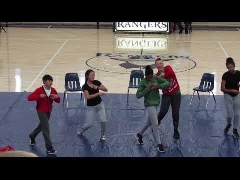 Pep Rally at Santa Rosa Academy 12-1-17