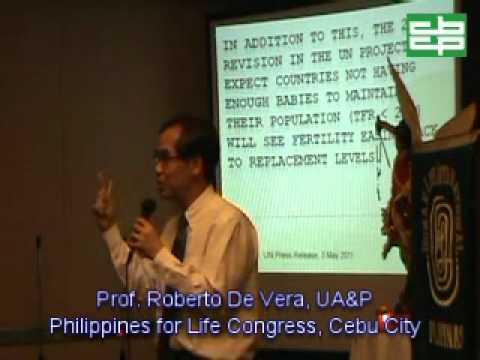 Prof. Roberto de Vera @ Philippines for Life Congress Summit Circle Hotel Cebu City