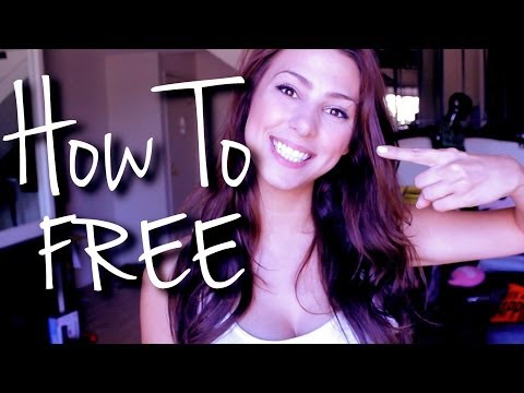 HOW TO GET WHAT YOU WANT FOR FREE