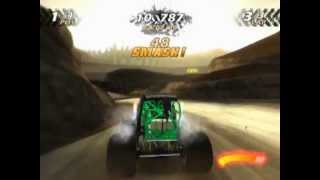Monster Jam (PS2 Gameplay)