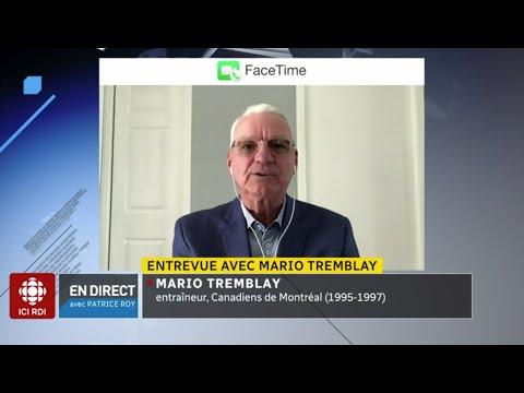 Patrick Roy et Mario Tremblay se réconcilient