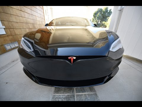 "Thumbnail: ""BLACK WIDOW"" Model S P100D Ludicrous. Chrome delete and Xpel Ultimate by Bemaro SF"