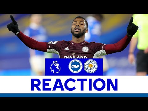 'We're All Delighted!' - Kelechi Iheanacho | Brighton & Hove Albion 1 Leicester City 2