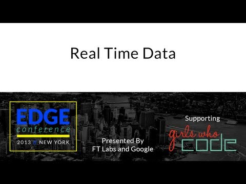 Edge Conf 2: Real Time Data