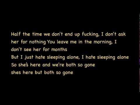 Drake- Hate Sleeping Alone (Lyrics)