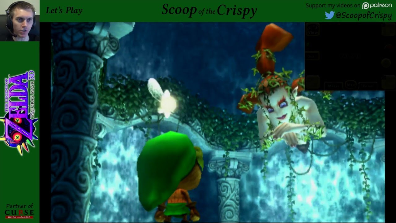 Zelda Majoras Mask 3d 3 Great Fairy 3ds Lets Play Youtube