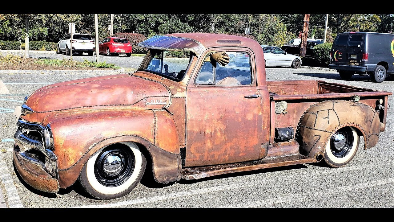 One Of A Kind 1954 Chevrolet 3100 Rust Rado Pick Up Truck Pickup