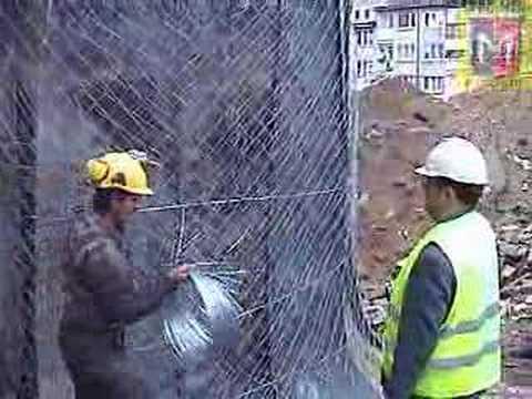 Demolition of chimney in Szczecin