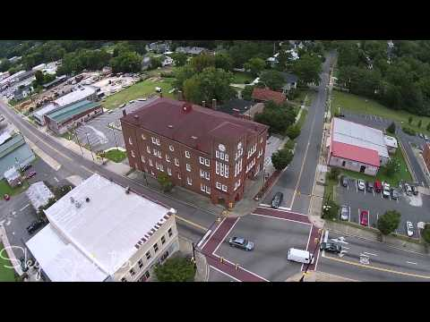 Town of Chester South Carolina from a DJI Phantom 2 Vision Plus