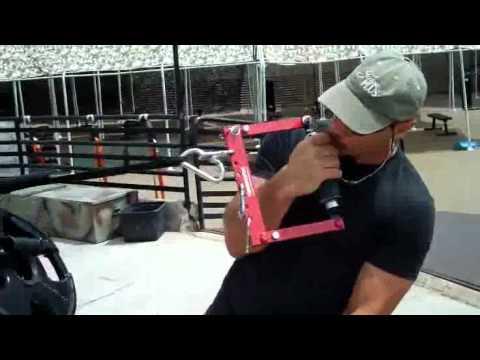 Arm Wrestling Training with Allen Fisher, World Ar...