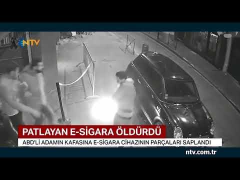 Patlayan elektronik sigara öldürdü
