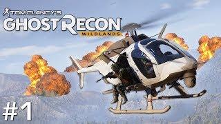 Ghost Recon: Wildlands - #1 - Team Zeta are Go!