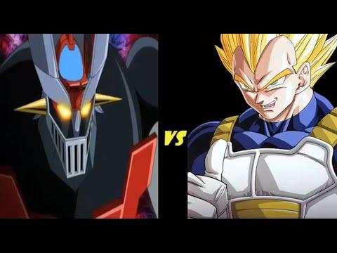 Mazinger vs Vegeta revenge