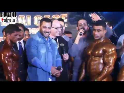Salman Khan Giving Gym Workout Tips With Body...
