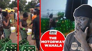The Motorway And Bèèr Wahala:  Herh Ghanaians Ehhh!!!
