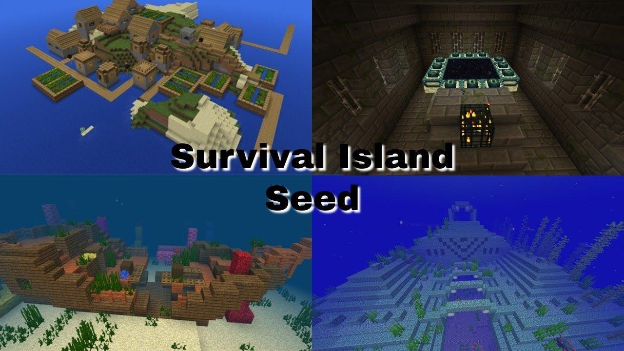 Survival Island Seed Minecraft Bedrock Edition