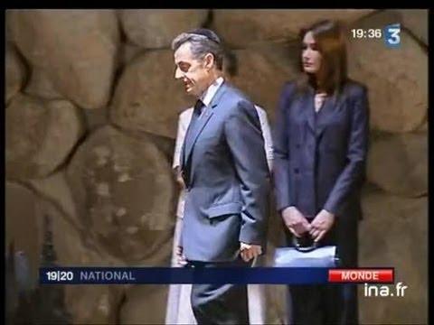 [Visite De Nicolas Sarkozy En Israël]