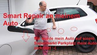 Zerkratztes Auto mit Smart Repair aufhübschen