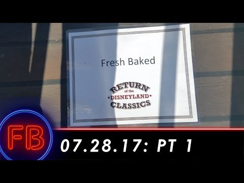 Media Day for Grand Re-Opening of Disneyland Railroad and Mark Twain | 07-28-17 Pt. 1 [DL]