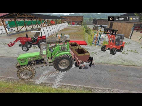Planting potatoes | Small Farm | Farming Simulator 2017 | Episode 31