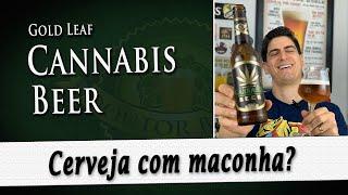 Gold Leaf Cannabis Beer | Degustação Doutor Breja | DB#242