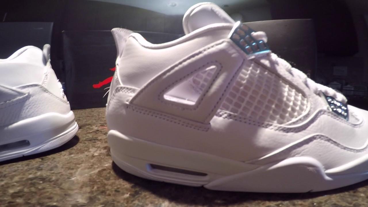 Jordan Pure Money IV Authentic Vs. UA pair - MUST WATCH! - YouTube 5ba99f701