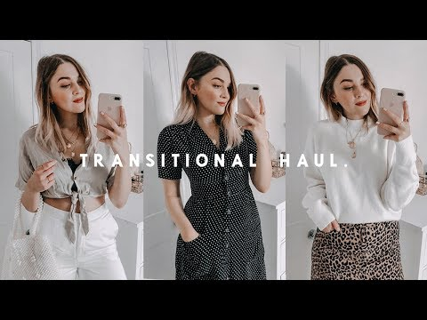 TRANSITIONAL HIGH STREET HAUL | TOPSHOP, URBAN OUTFITTERS + H&M | I Covet Thee