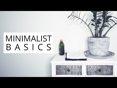 10 MINIMALIST ESSENTIAL BASICS | Minimal Wardrobe and Home thumbnail