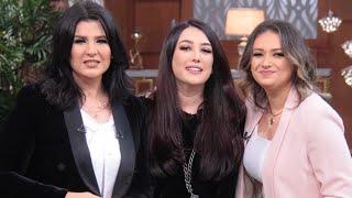 تحدي كندة علوش مع أخت زوجها عمرو يوسف في معكم منى الشاذلي - الحلقة الكاملة