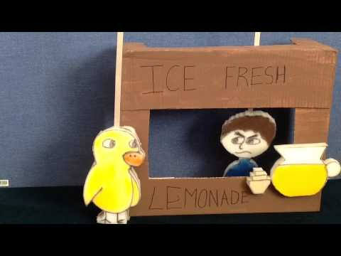 The Duck Song by Hayden and Preston - Puppet Show