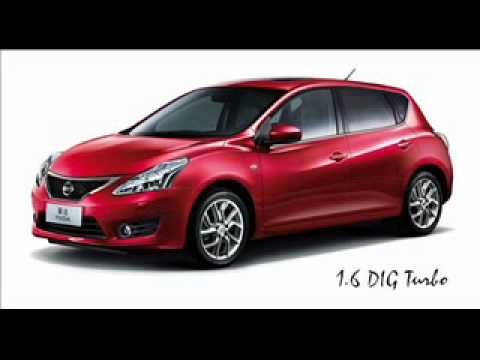 All New 2012 Nissan Tiida Sentra Pulsar Hatchback Youtube