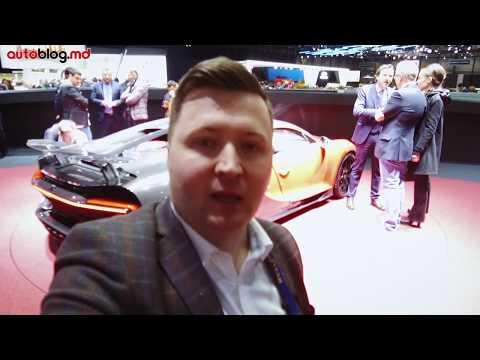 Geneva 2018: Bugatti Chiron Sport - cum arată 3.000.000 euro!