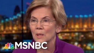 Elizabeth Warren: Endless War In Syria, Afghanistan Is Not Working   Rachel Maddow   MSNBC