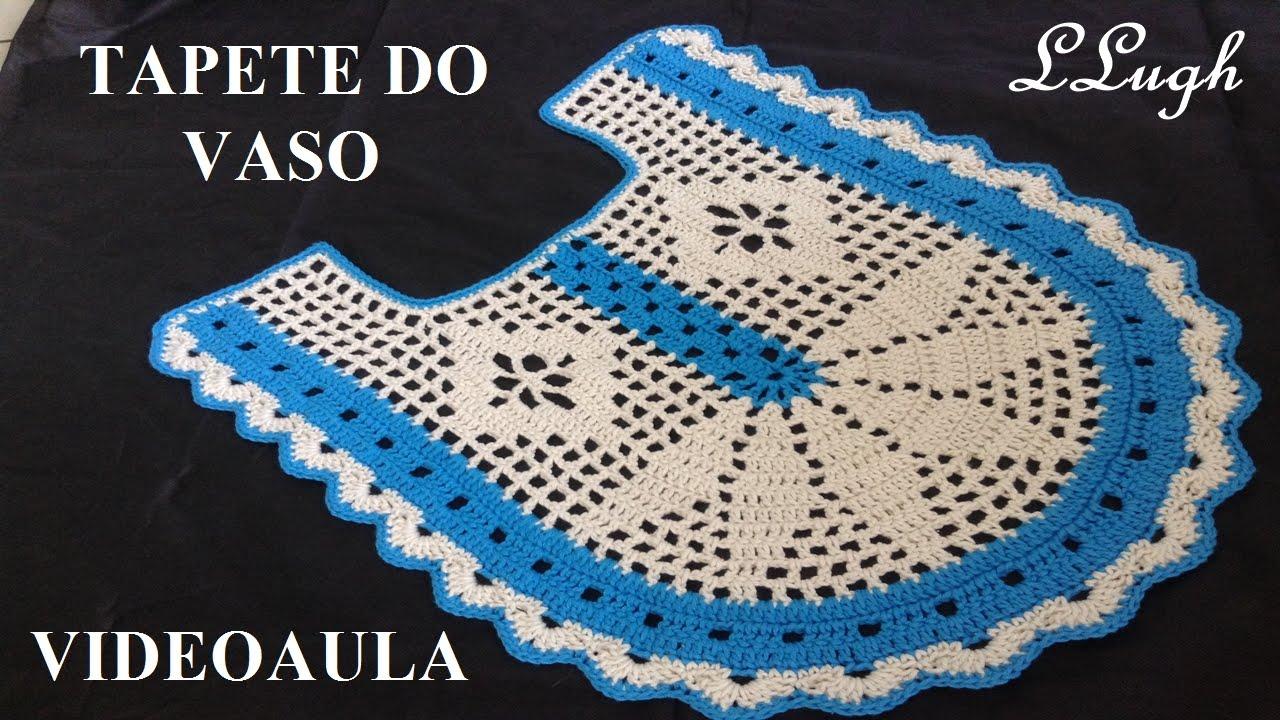 Tapete Do Vaso Jogo De Banheiro Harmonia Luizadelugh