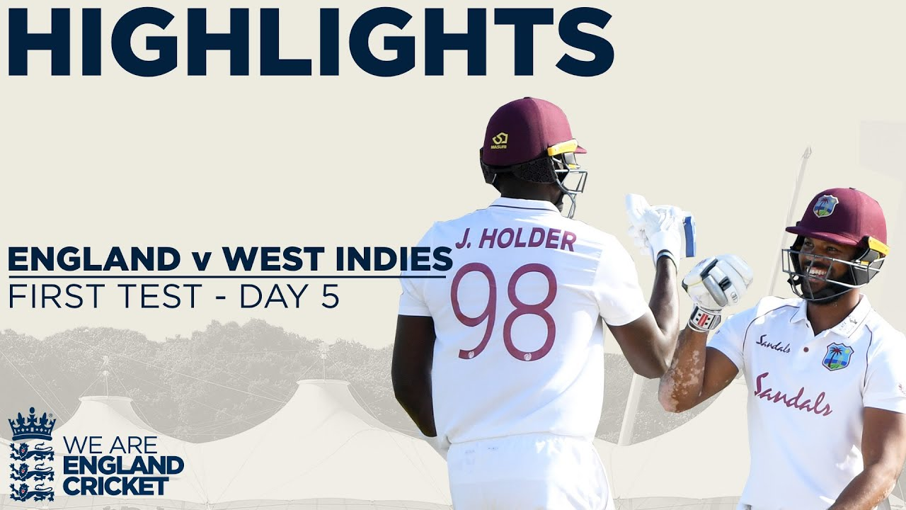 Download Day 5 Highlights | Windies Win Thrilling Test | England v West Indies 1st Test 2020