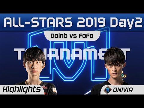Doinb Vs FoFo 1v1 Highlights LoL All Stars 2019 Round 1 By Onivia