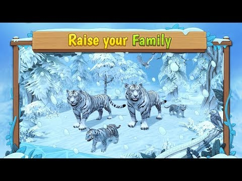🐅White Tiger Family Simulator-By Area730 Simulator Games-Android📱