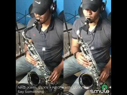 'Say Something' by A Great Big World feat. Christina Aguilera (Tenor Sax Cover)