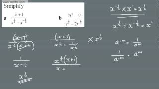 A Level - A* Students - Core 1 Extension Questions Rules of Indices 1